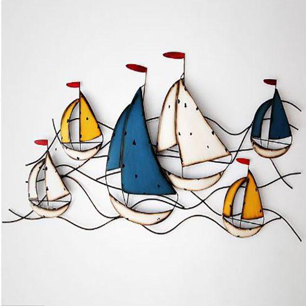 Đồ Trang Trí Wave Sailboat – DTT14